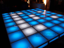 Holiday Party Illuminated Dance Floor Rental Fort Lauderdale