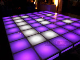 Holiday Party Light Up Dance Floor Rental Fort Lauderdale