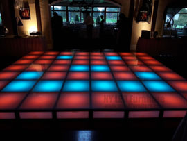 Holiday Party Rent Illuminated Dance Floor Fort Lauderdale