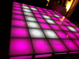 Holiday Party Rent LED Dance Floor Fort Lauderdale