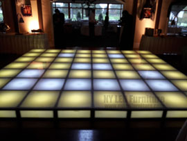 Holiday Party Rent Lighted Dance Floor Fort Lauderdale