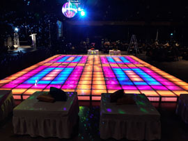 Disco Dance Floor Rental Miami