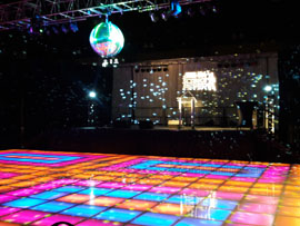 LED Saturday Night Fever Dance Floor Rental Miami