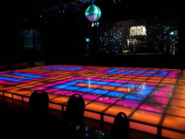 Saturday Night Fever Dance Floor Rental Miami