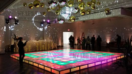Illuminated Dance Floor Rental Orlando Wedding