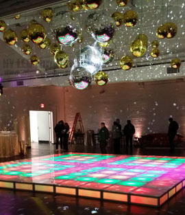 LED Dance Floor Rental Orlando Wedding