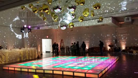 Lighted Dance Floor Rental Orlando Wedding