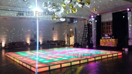 Wedding Lighted Dance Floor Rental Orlando